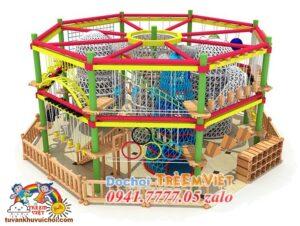 leo trèo mạo hiểm khu vui chơi trẻ em, lắp đặt khu vui chơi trẻ em trong nhà
