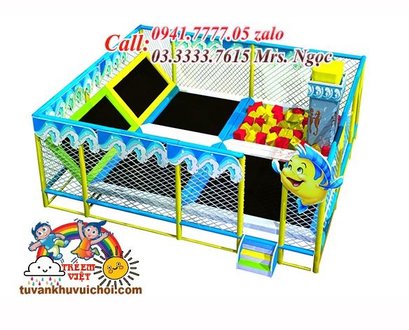 sàn nhún cho bé, tư vấn mở khu vui chơi trẻ em, lắp đặt khu vui chơi