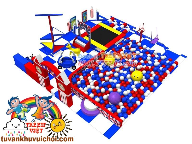 khu vui chơi liên hoàn trong nhà