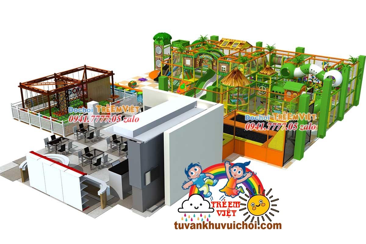 mô hình khu vui chơi trẻ em trong nhà, mo-hinh-khu-vui-choi-tre-em-trong-nha