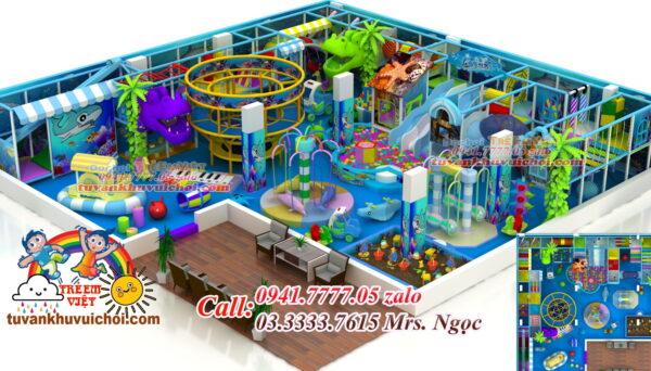 kinh doanh khu vui chơi trẻ em trong nhà