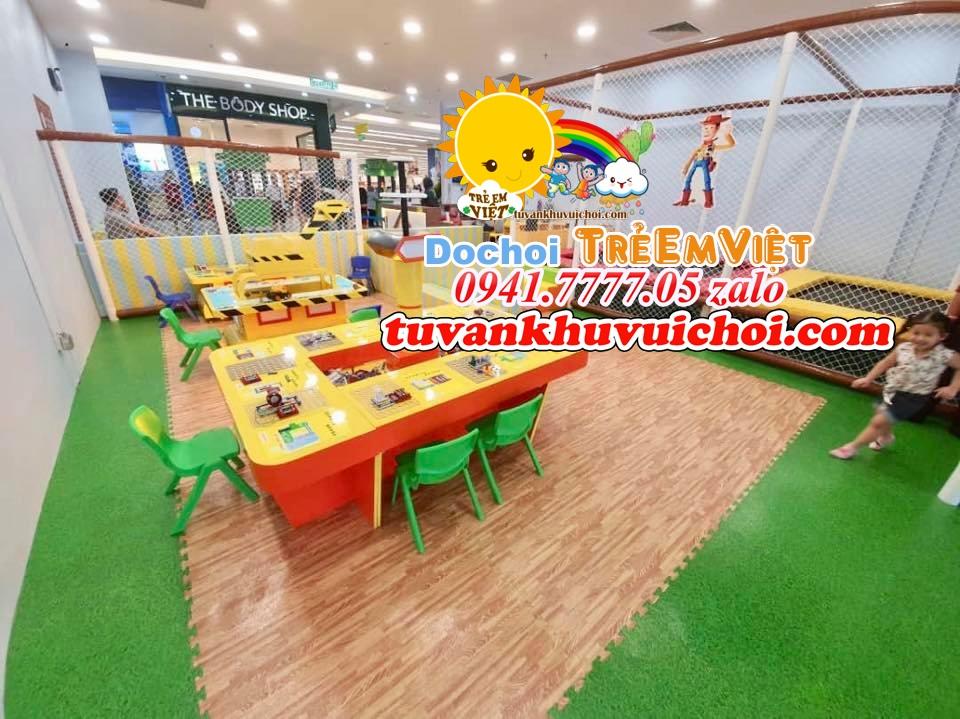 Mô hình khu vui chơi trẻ em trong nhà