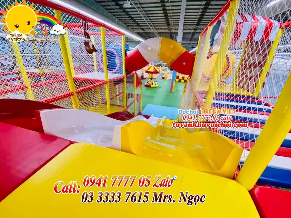 Thi Công Sân Chơi Trẻ Em Trong Nhà
