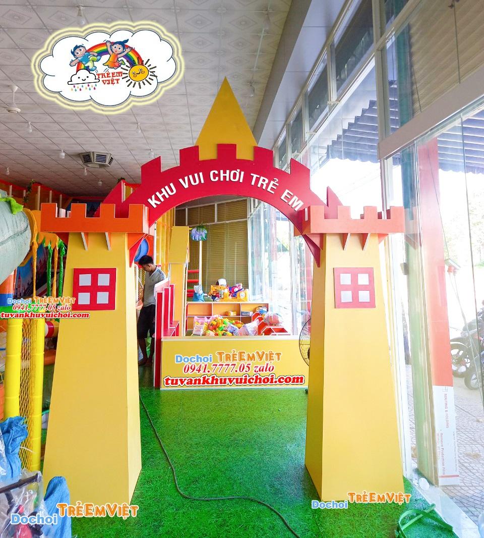 Cổng khu vui chơi trẻ em