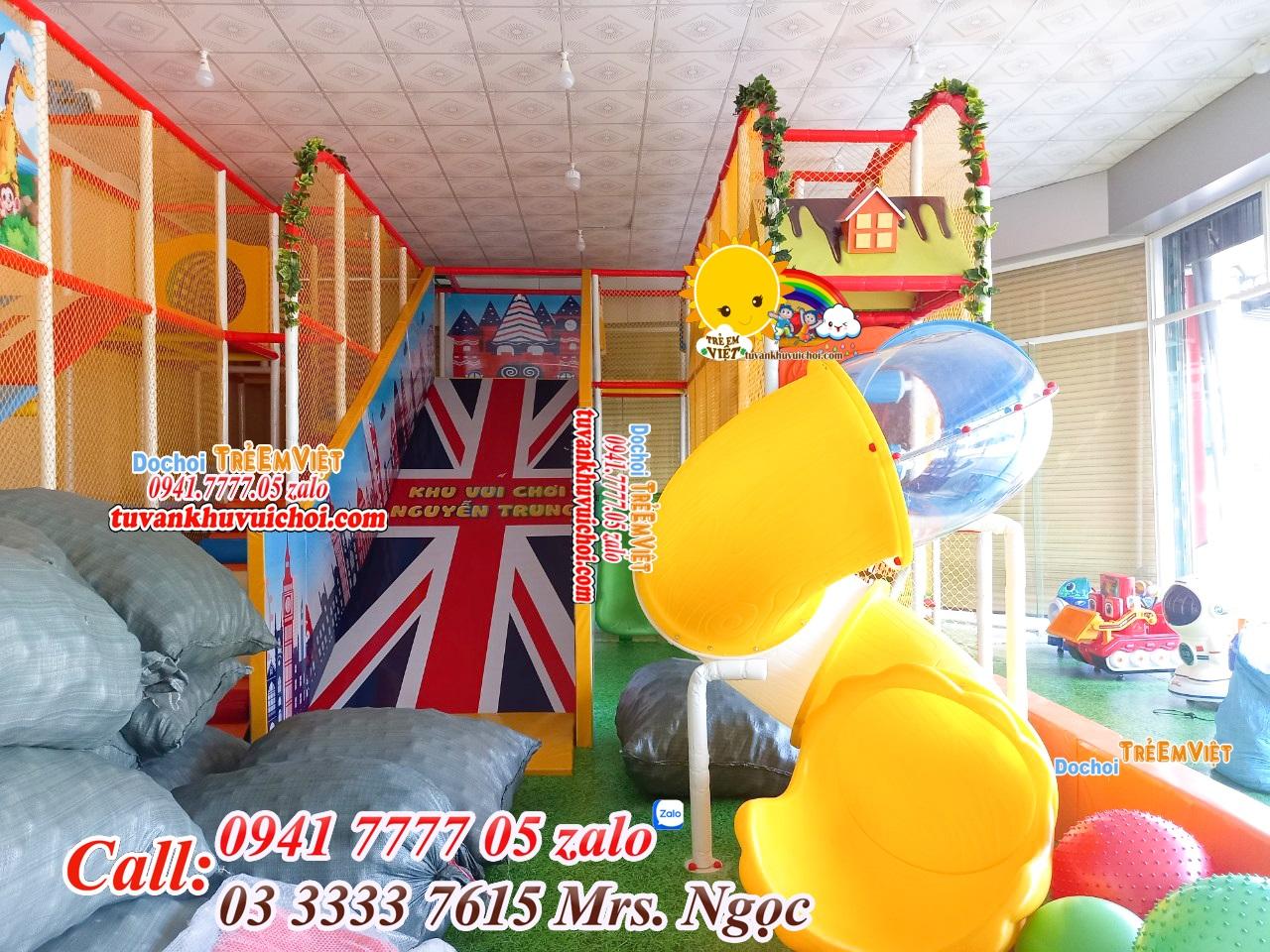 thiết kế khu vui chơi trẻ em ở nông thôn